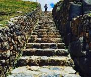 Stone-Made Stair ways
