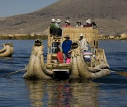 Local Transportation at Titicaca Lake