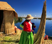Uros floating Island, Puno