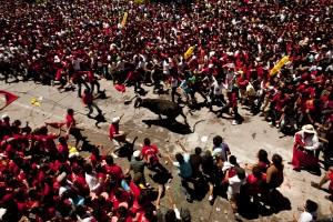 Pascua Toro street event